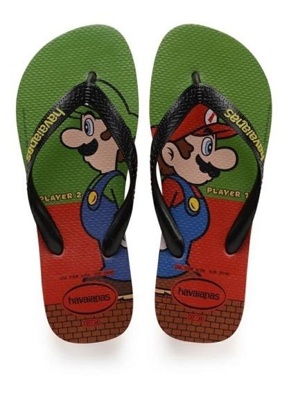 Chinelo Havaianas Mario Bros 4.140.269