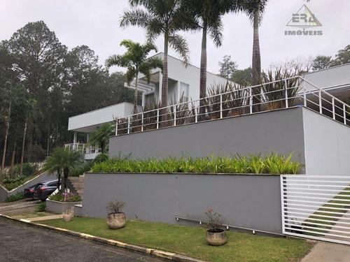 Imagem 1 de 30 de Casa Com 3 Dormitórios À Venda, 490 M² Por R$ 4.000.000,00 - Arujázinho I, Ii E Iii - Arujá/sp - Ca0648