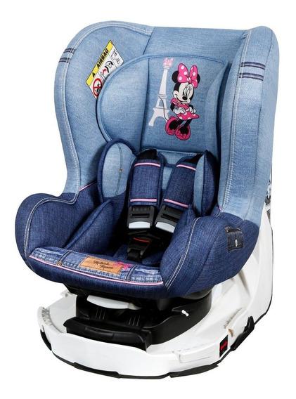 Cadeira Para Auto Disney Revo Denim Minnie Mouse - Teamtex