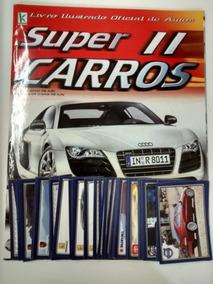 Álbum Completo Super Carros 2 Figurinhas Soltas