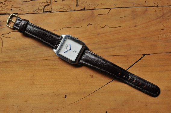 Relógio Must De Cartier Santos 100 - Leia O Anúncio