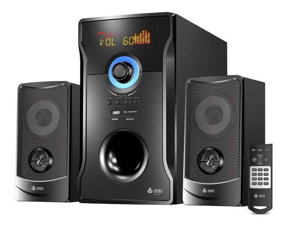 Caixa De Som Mini System Bluetooth 60w Subwoofer Vm-x2151