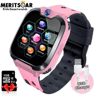 Reloj Inteligente Llamada Sos, Gps, 7 Juegos Pantalla Táctil