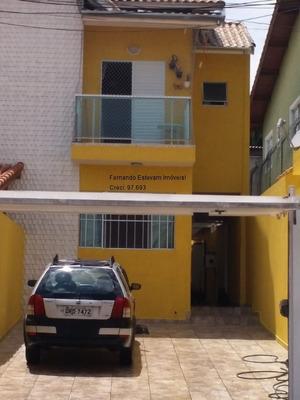 Sobrado No Campo Limpo Com Suite E 4 Vagas De Garagem - Jd Umarizal - Ca00033 - 33155463