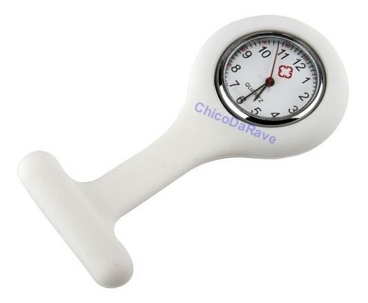 Relógio De Bolso Lapela Jaleco Branco Médico Enfermagem