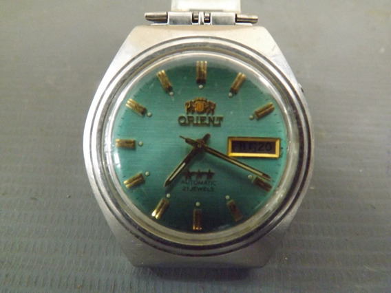 Relógio De Pulso Masculino Oriente Automatic #10088