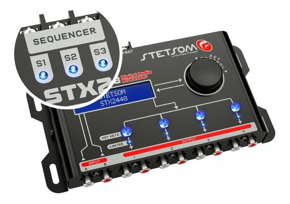 Processador De Audio Digital Equalizado Stx2448 Stetsom