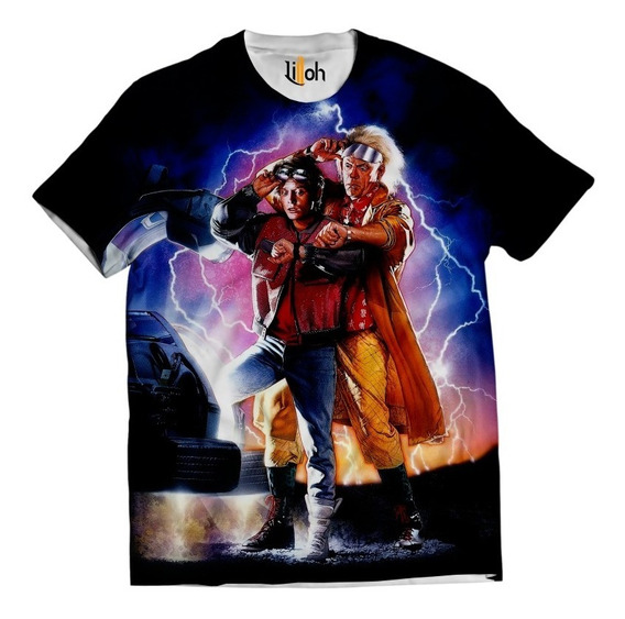Camisa Filme Camiseta De Volta Para O Futuro 03