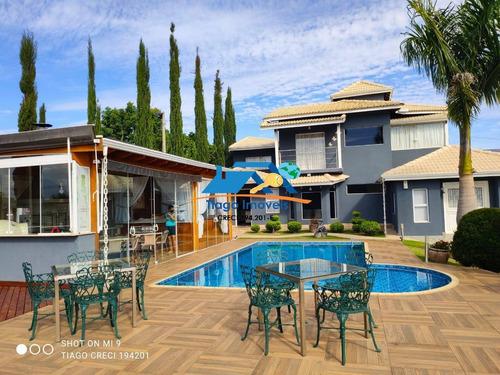 Linda Casa A Venda Em Condomínio Em Atibaia - 751
