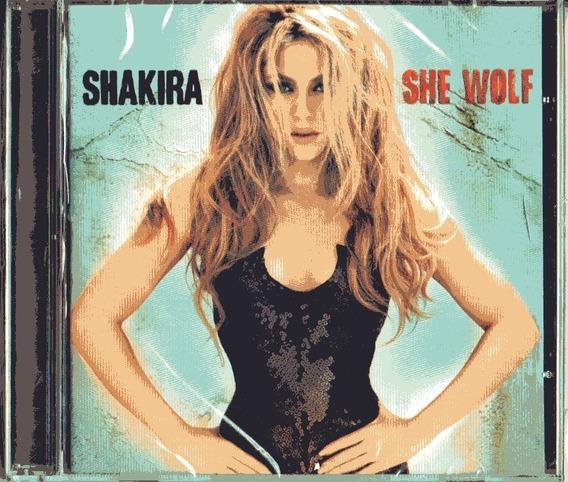 Cd Shakira - She Wolf - Novo***