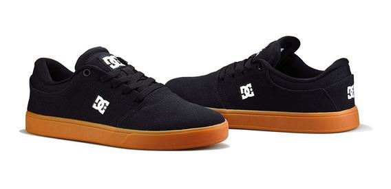 Tênis De Skate Dc Shoes Preto Crisis Tx La Black/gum