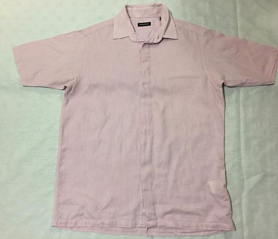 Camisa Springfield - (100% Original) - Color: Rosa/ Talla: M