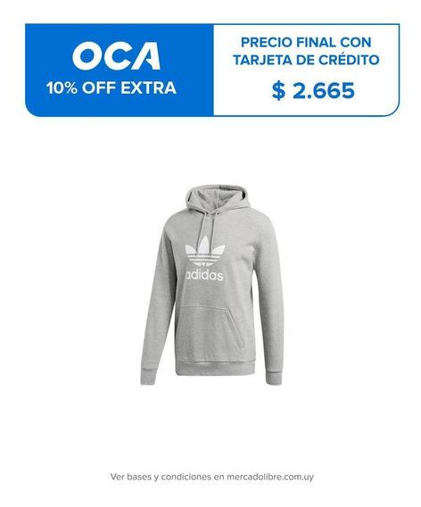Buzo Con Capucha De Hombre Trefoil Hoodie Originals Dt7963