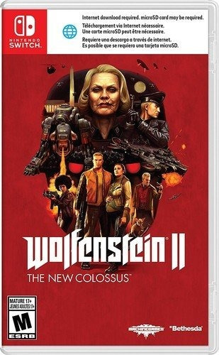 Wolfenstein 2 The New Colossus - Switch - Midia Fisica!