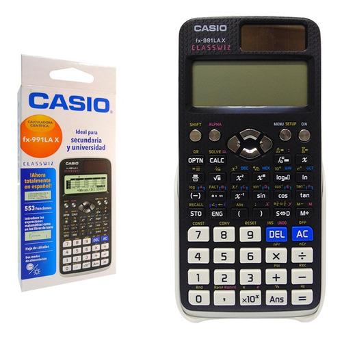 Calculadora Cientifica Casio Classwiz Qr Fx-991ex Fx-991lax
