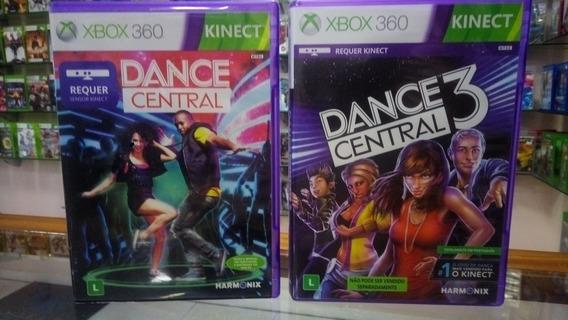 Jogos Usados Xbox 360 - Dance Central 1 E 3