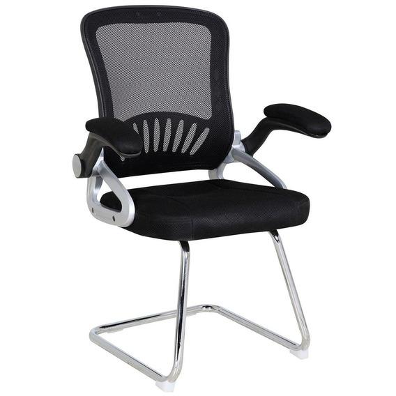 Cadeira Base Fixa New York Preta