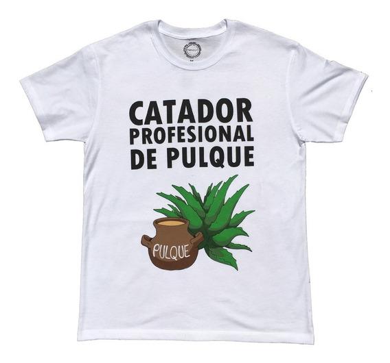 Playera Hombre Catador De Pulque