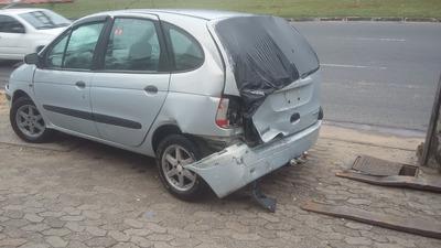 Sucata De Renault Scenic 2.0 16v Motor Câmbio Peças Acessór