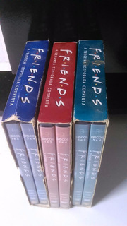 1ª , 2ª E 3ª Temporada Da Serie Friends, Dvd