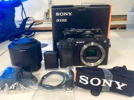 Sony A6300 + Lente E 50mm F1.8 - Apenas 97 Clicks