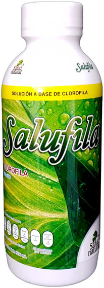 Salufila Salud Natural Base De Clorofila 500 Ml Envio Hoy