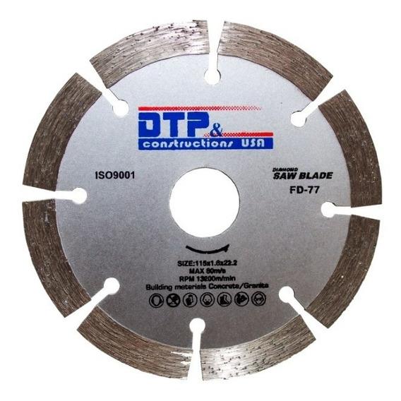 Disco Diamantado Concreto / Ceramica 4 Pulgadas