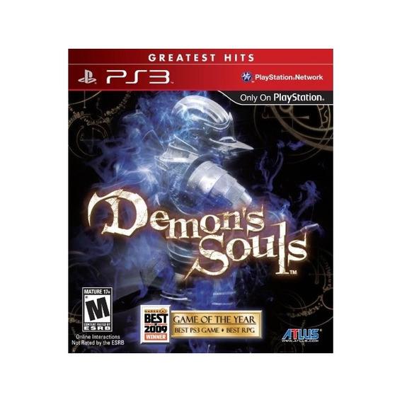 Demons Souls Mídia Física Lacrado Ps3