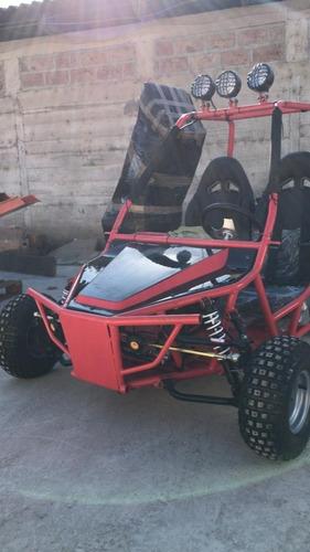 Buggy Go Kart Atv Motor 4t 196cc Para 2 Pilotos Tecnodeliv