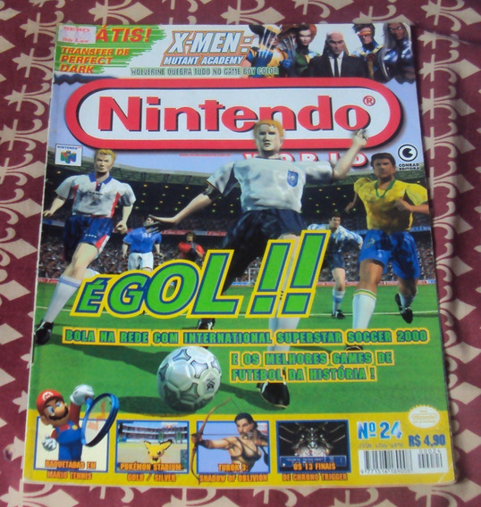 Revista Nintendo World - Ed. Nº 24