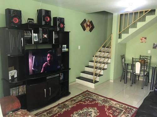 Casa Geminada Com 2 Quartos Para Comprar No Nacional Em Contagem/mg - 1258