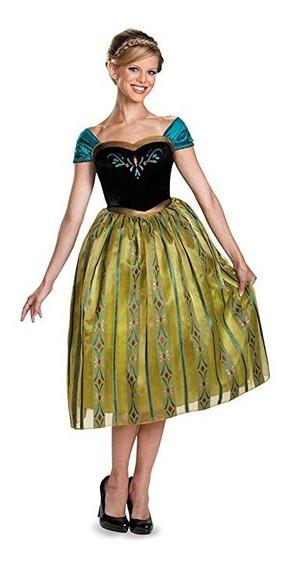 Disfraz Anna Coronacion Frozen Disney Disguise Mujer
