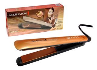 Plancha Remington Keratina Argan Digital 450º Original + Obs