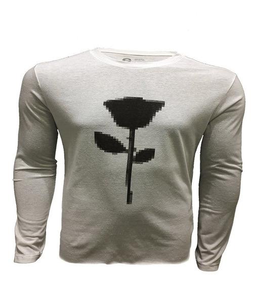 Camiseta Oaklen Eco Rustic Rose Pixel