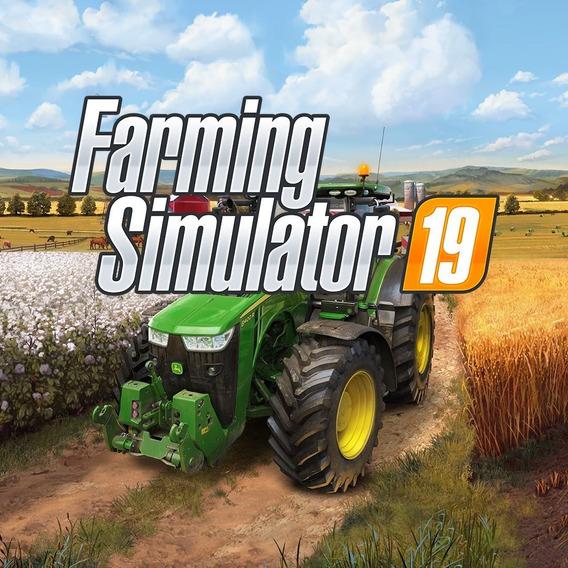 Farming Simulator 19 Pc (midia Fisica)