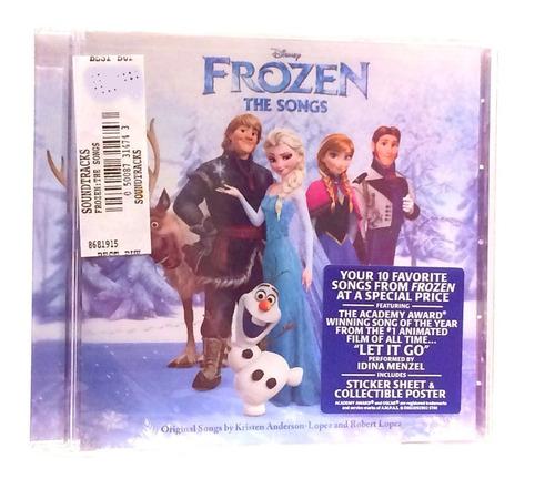 Cd Disney Frozen The Songs (nuevo)