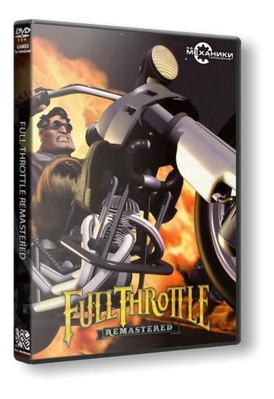 Full Throttle Remastered - Pc Dvd Mídia Física Frete 8 Reais