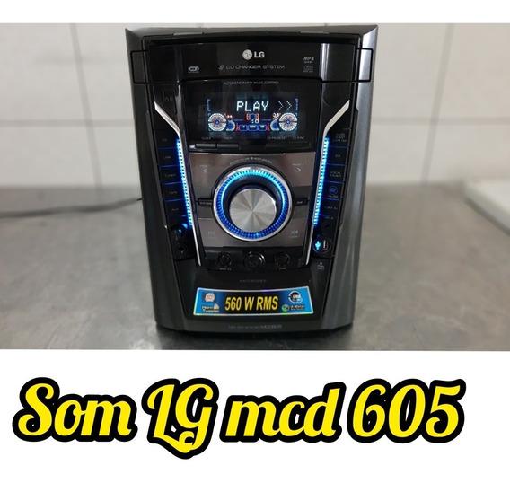 Aparelho De Som LG Mcd605 ( Apenas Central ) 560rms Potente
