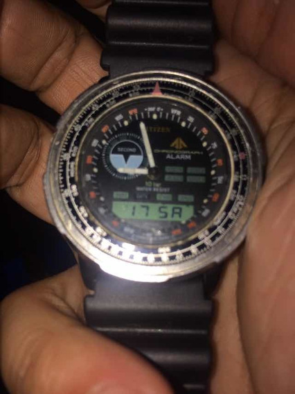 Citizen Wingmam Calibre 8945 - Década De 80 - Tudo Funcionando!