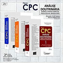 Novo Cpc Análise Doutrinária - 3 Volumes - Novo - 2018