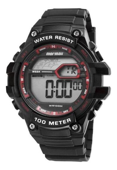 Relógio Masculino Mormaii Wave Digital Mo3480a/8r - Preto