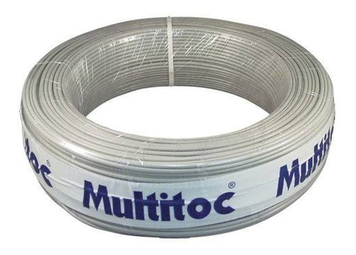 Cabo Cci 50 X 03 Cinza - 100 Metros- Multitoc