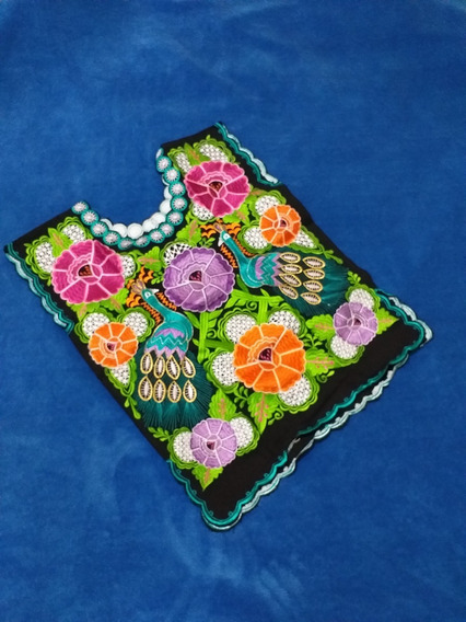 Blusa Artesanal Primavera