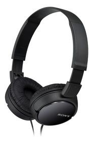 Fone Profissional Sony Original Headphone Preto Mdr-zx110