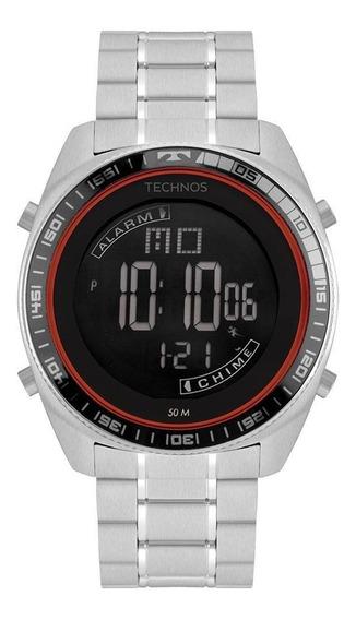 Relógio Masculino Technos Prata Bj3373ab/1p