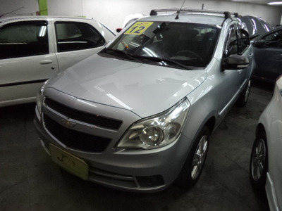 Chevrolet Agile 1.4 Ltz 5p Completo Airbags Abs Rodas 2012