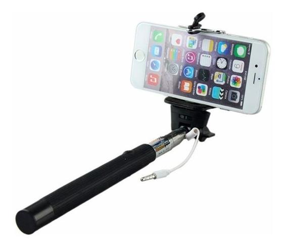 Bastão Pau De Selfie Celular iPhone Samsung Botão Disparador