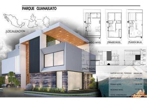 Venta Casa 3 Recamaras Parque Guanajuato Lomas De Angelopoli