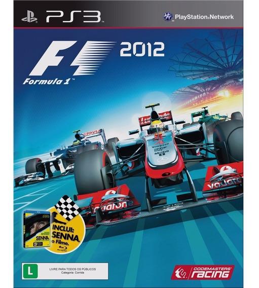 F1 2012 Ps3 + Senna O Filme Blu-ray | Garantia Playgorila