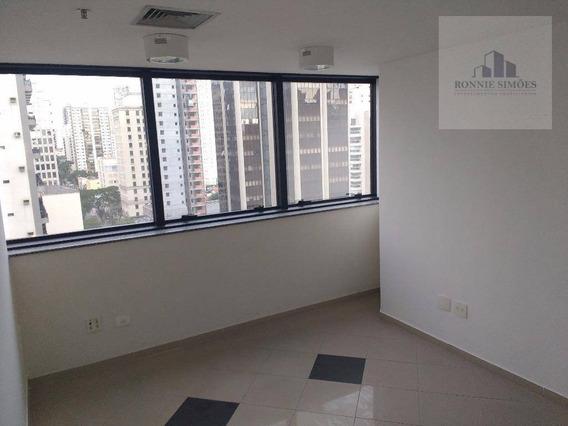 Sala Para Alugar, 50 M² Por R$ 2.000/mês - Moema - São Paulo/sp - Sa0160